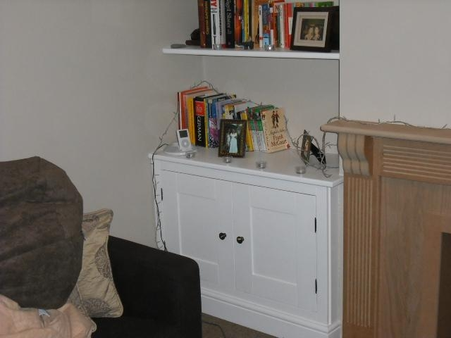 Dwaft Cupboard with open shelving