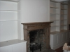 Pair of fitted alcove units