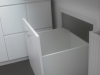 Pull out eves cupboards